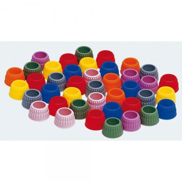 Kodierringe für Gr #7+9, 16St./Pkg. farbig sortiert