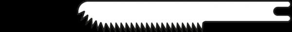 Mikro-Sägeblatt 17/0,4 mm