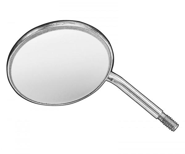 Mundspiegel, plan, HR-High Reflection, Front-Verspiegelung, Gr.5, Pack. 12 St.