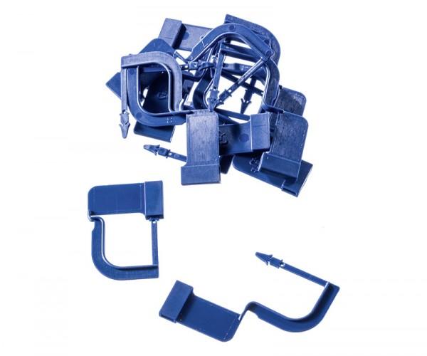 Verschlußplomben, blau für Container