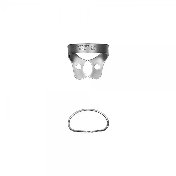 Kofferdam-Klammer #29 UK, Prämolar, ohne Flügel