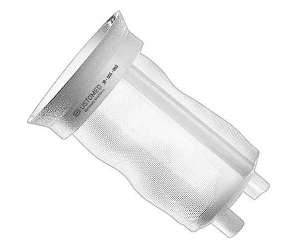 Filtereinsätze für Knochenfalle, 3 Stück