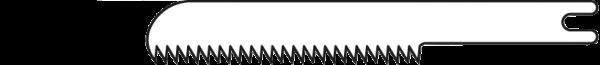 Mikro-Sägeblatt 18/0,4 mm