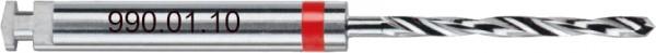 Wegmann Spiralbohrer Ø 1,0 mm | Winkelstück | rot