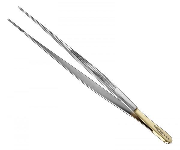 Pinzette, 18 cm, schmal, Hartmetall