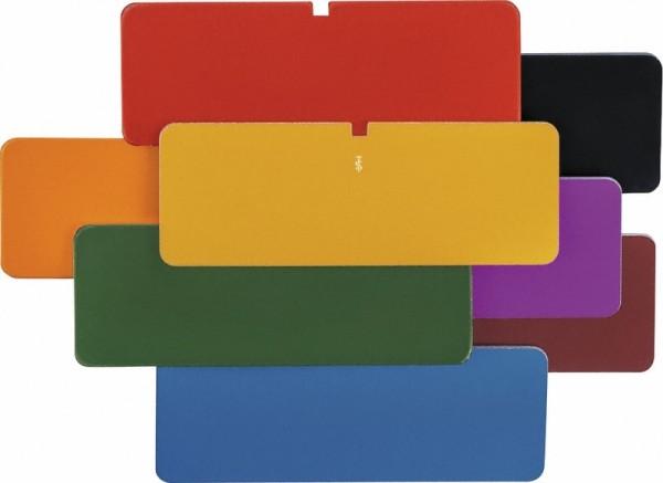 Schild, unbeschriftet, div. Farben