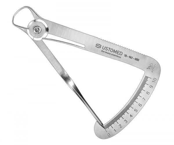 IWANSON, Tasterzirkel, Meßbereich 0-10 mm - nur für Vergleichsmessungen -