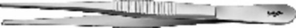 CHIR.PINZETTE STD.1X2Z.130MM