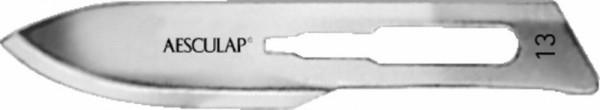 Skalpellklingen, Fig. 13, steril, 100 Stk.